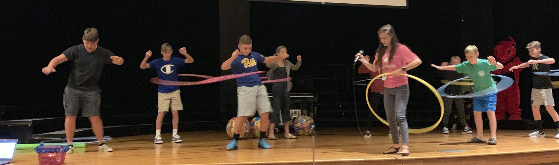 PBIS Hula Hoop Competition