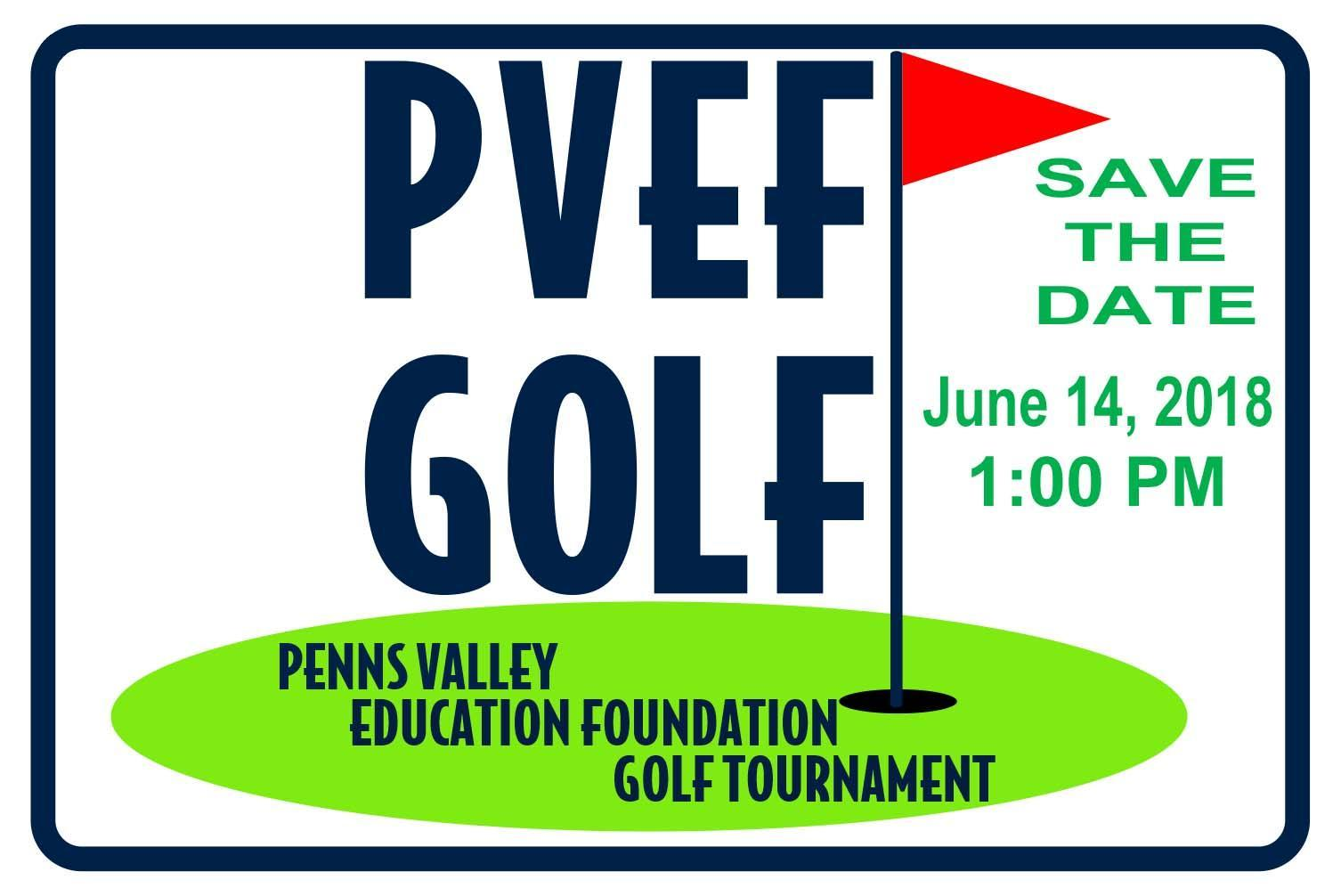 2018 PVEF Golf Tournament Save the date