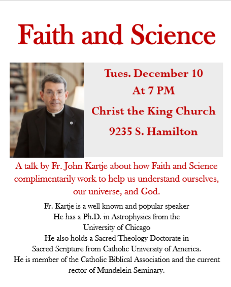 Faith and Science with Fr. John Kartje Featured Photo