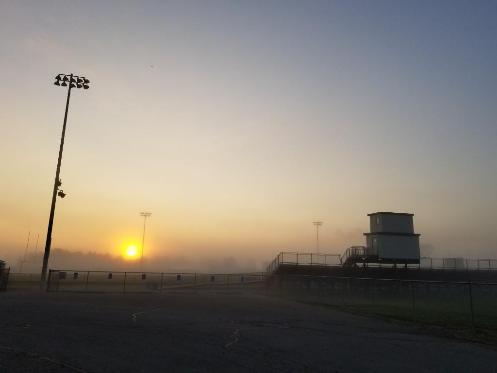 AHS Football Sunrise Photo