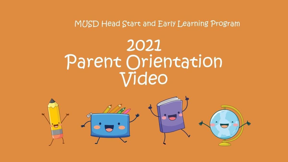 Parent Orientation Video