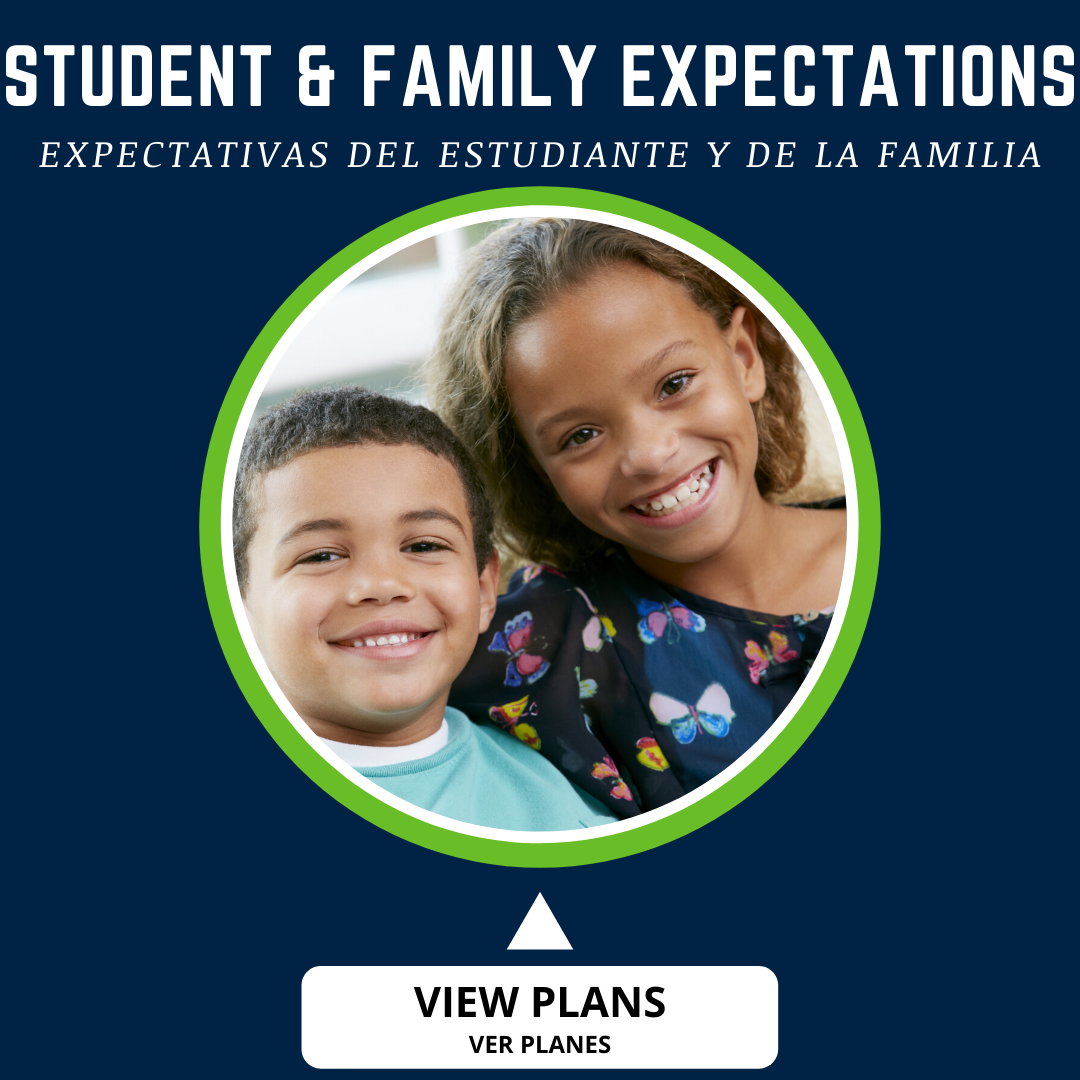 button for student and family expectations plan