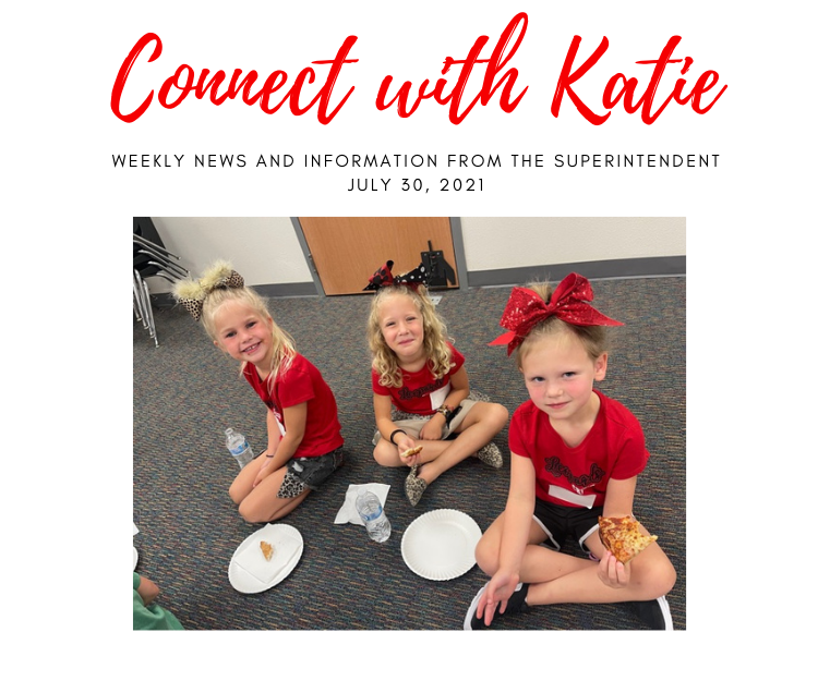 Connect with Katie: July 30, 2021 Featured Photo