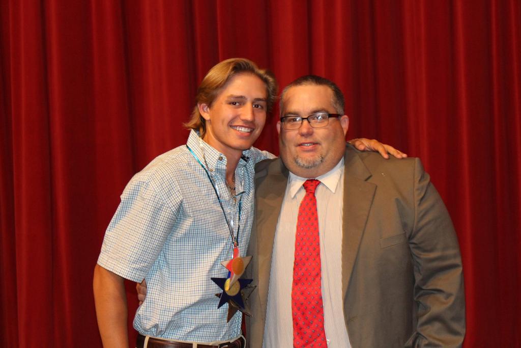 Hays County Livestock Show$500Tyler Strobel with Presenter: Wayne Hux, CTE Construction, Wimberley High School
