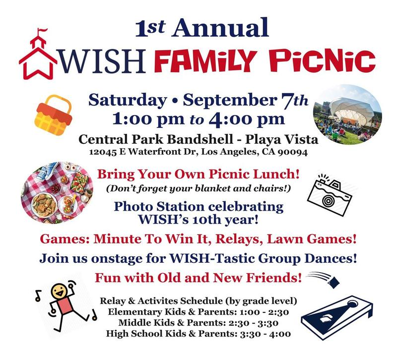 Flyer for Picnic on September 7
