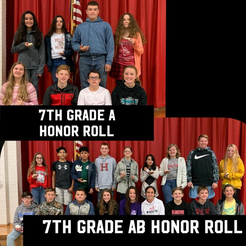 7th Grade A and AB Honor Rolls Thumbnail Image