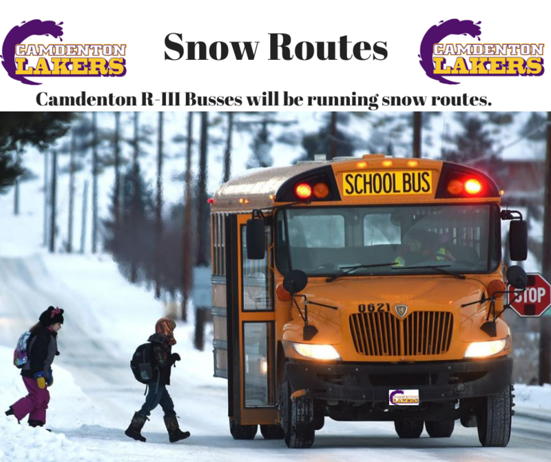 Snow Routes - Wednesday January 22, 2020 Featured Photo