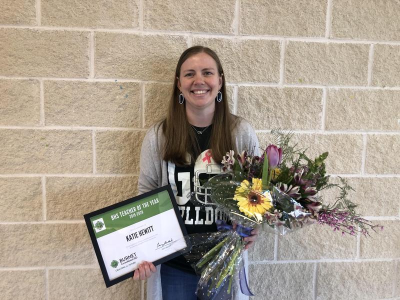 BHS Teacher of the Year - Katie Hewitt!! Thumbnail Image