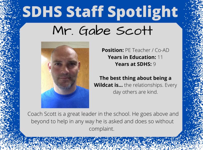 Staff Spotlight - Gabe Scott