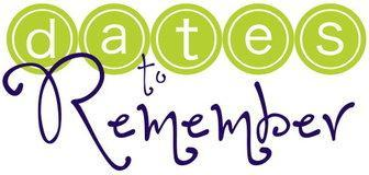 dates to remember clipart