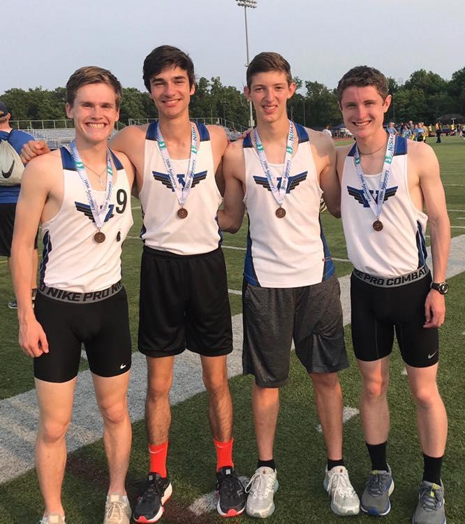 Boys 4x800 Relay - 3rd Place NJSIAA Group Chamionships