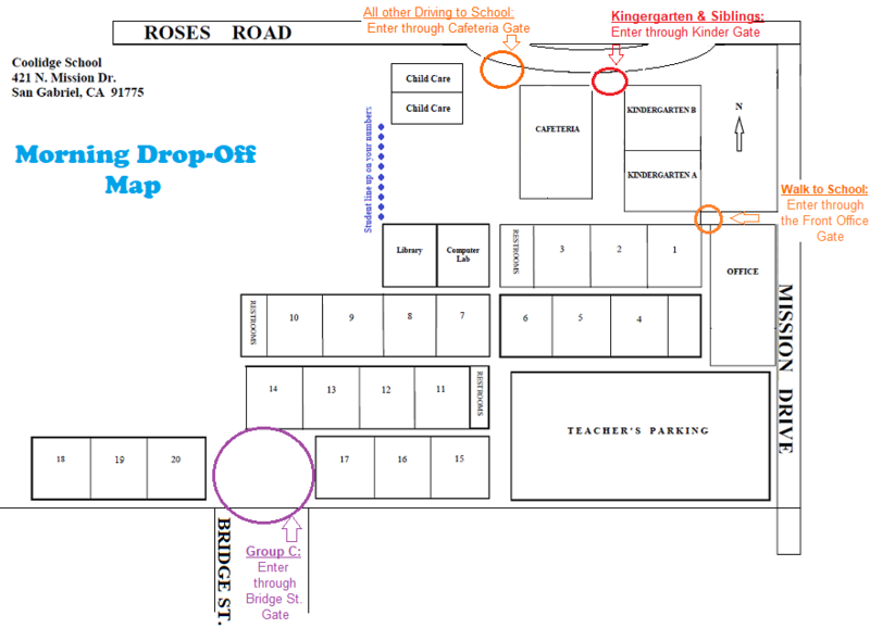 See Where to Drop-Off/ Pick-Up Your Students Featured Photo