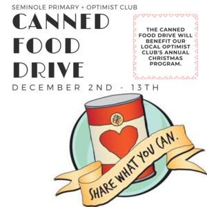seminole primary food drive