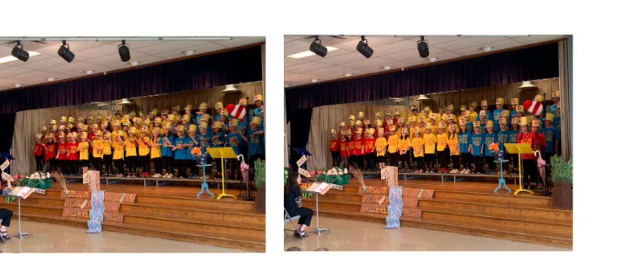 pictures of 2nd grade musical