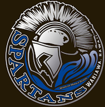 Wheeler Middle School spartan logo