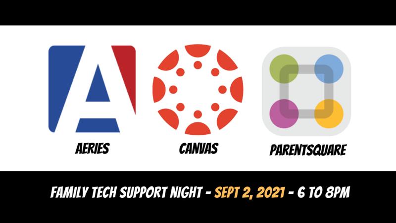 tech support night sept 2, 2021