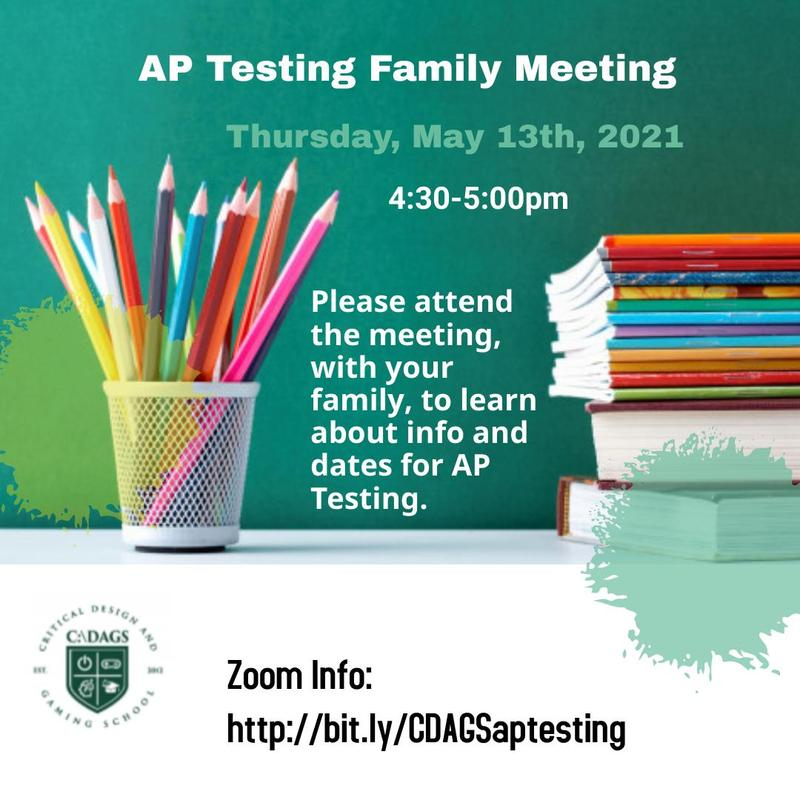 AP Testing Family Meeting Featured Photo
