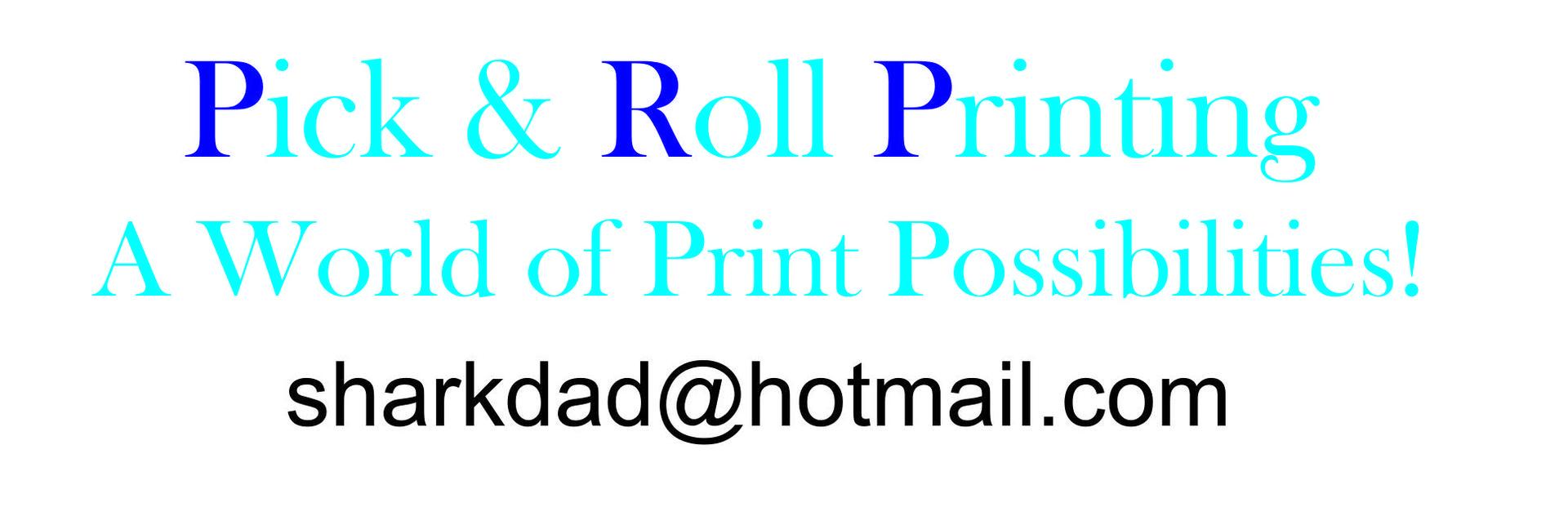 Pick & Roll Printing