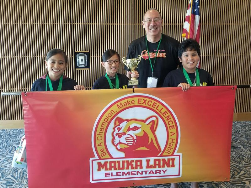 DimensionU Math Games-1st Place Elementary Team Division Thumbnail Image