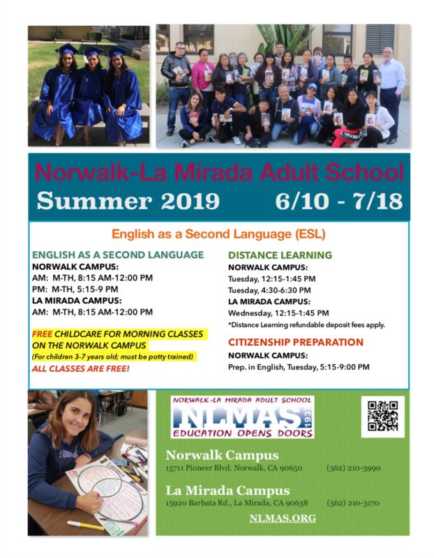 Summer 2019 Schedule! Featured Photo