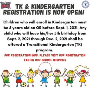 TK/K Registration Information
