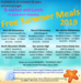 Summer Meals Program locations and schedule for SJUSD 2019