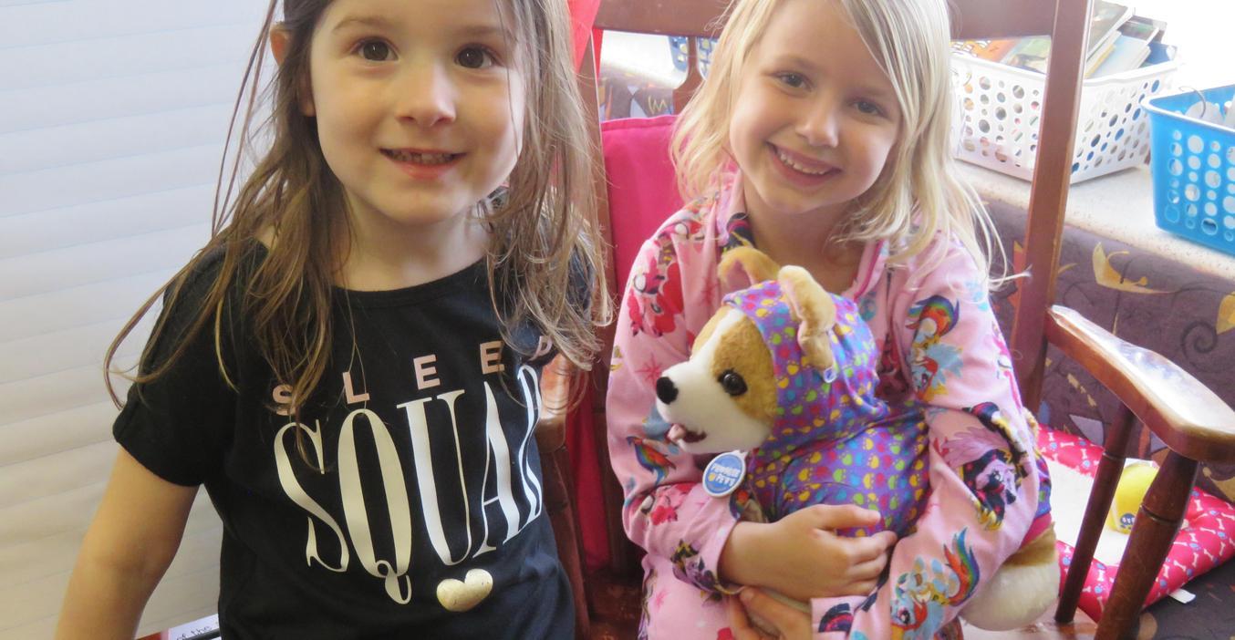 McFall students enjoyed Global Play Day.