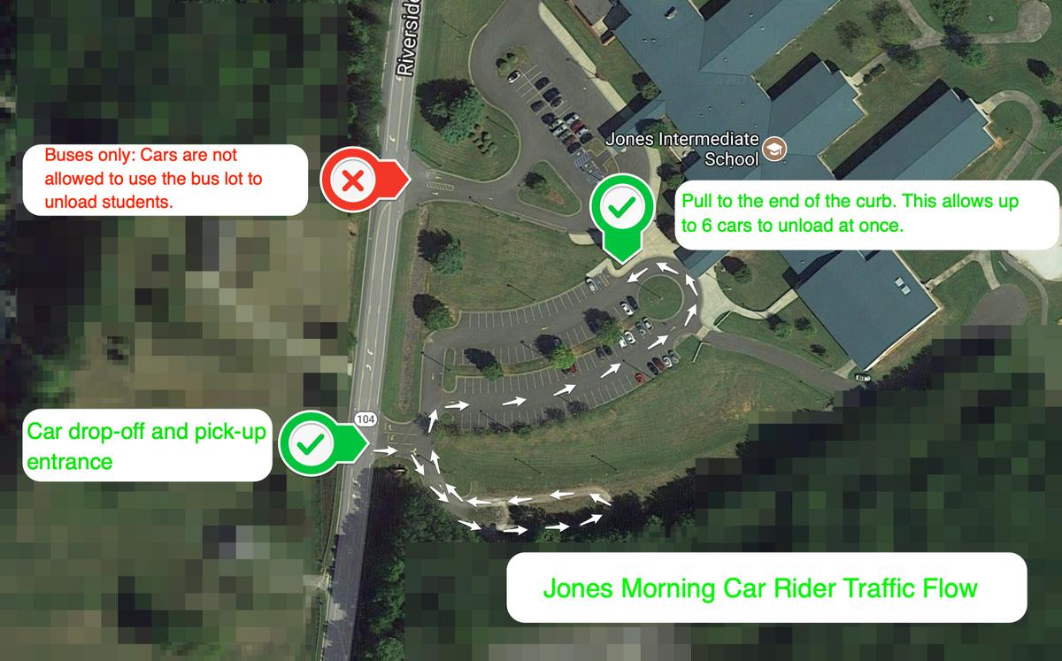 jones traffic pattern