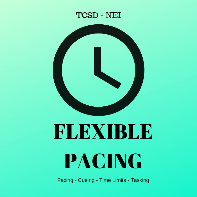 Flexible Pacing Badge