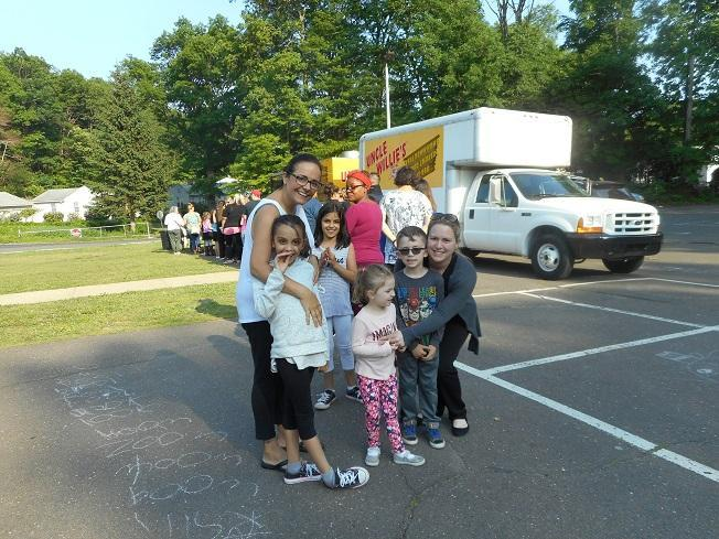 Families at PTO Event
