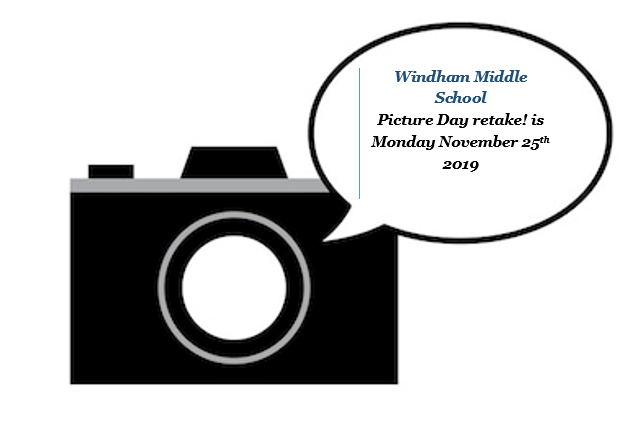 Picture day retake is Monday November 25th 2019 Thumbnail Image