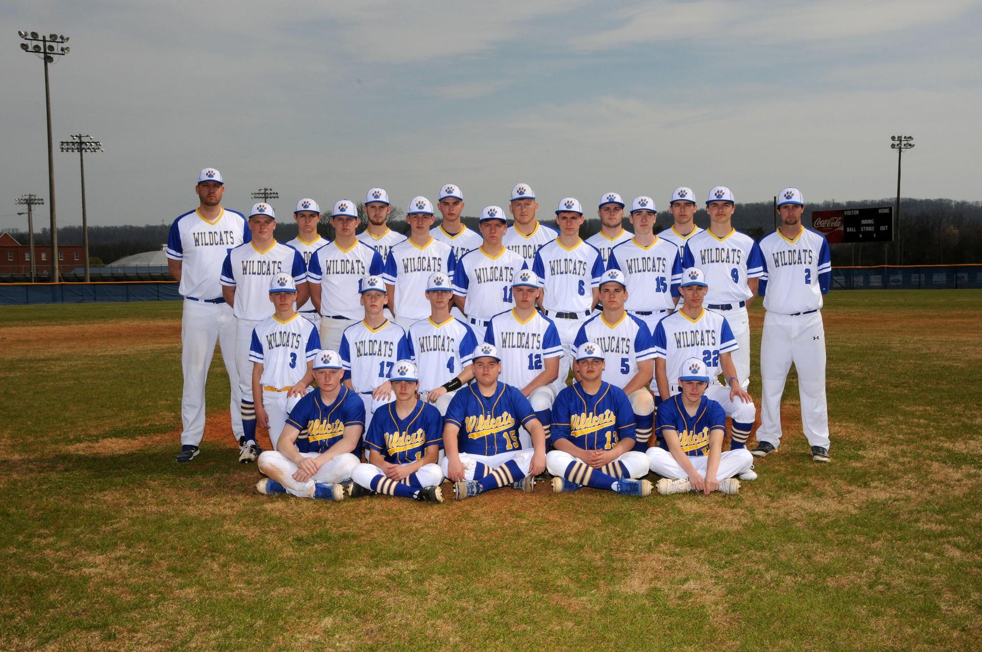 2017/2018 Baseball Team