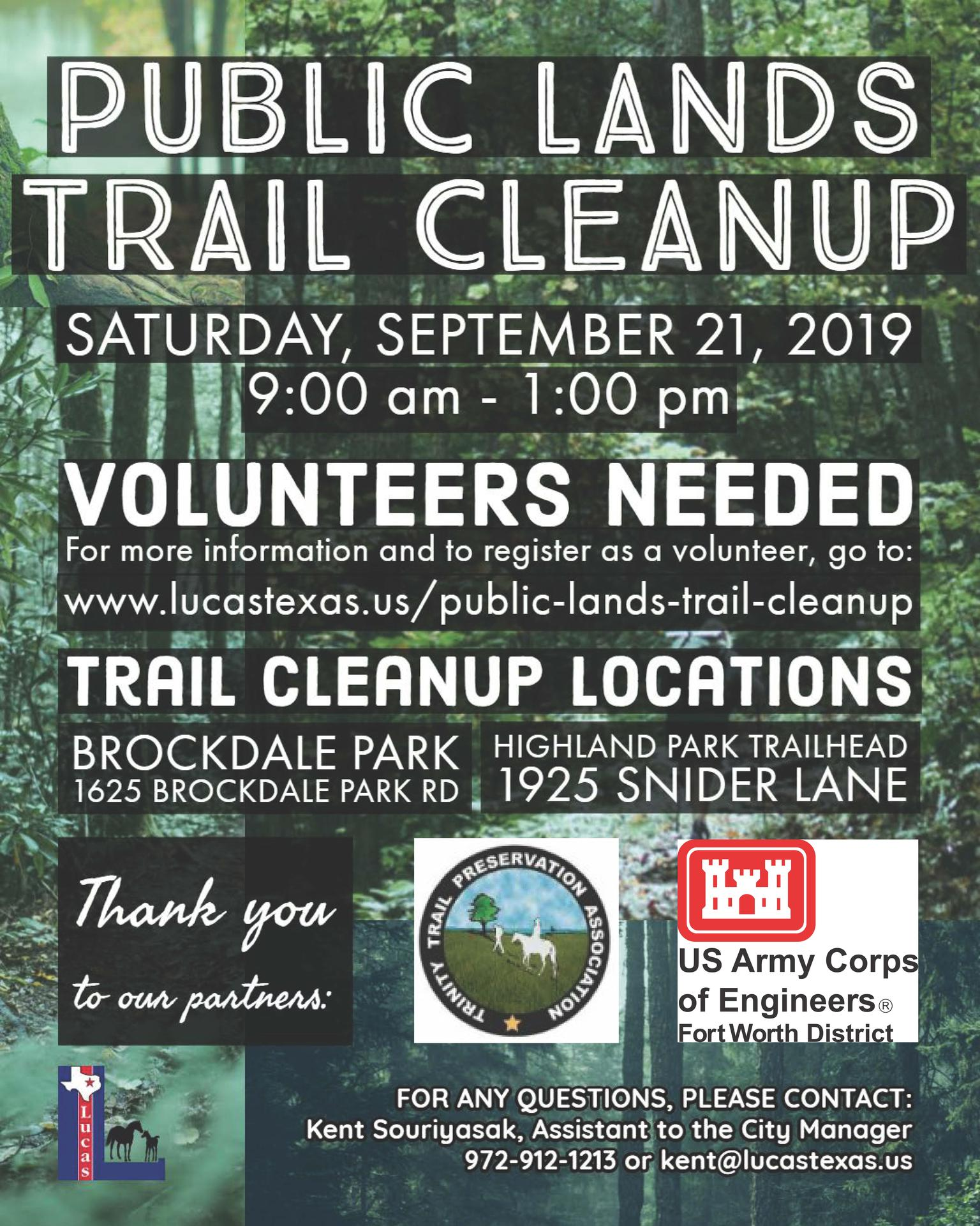 trail cleanup