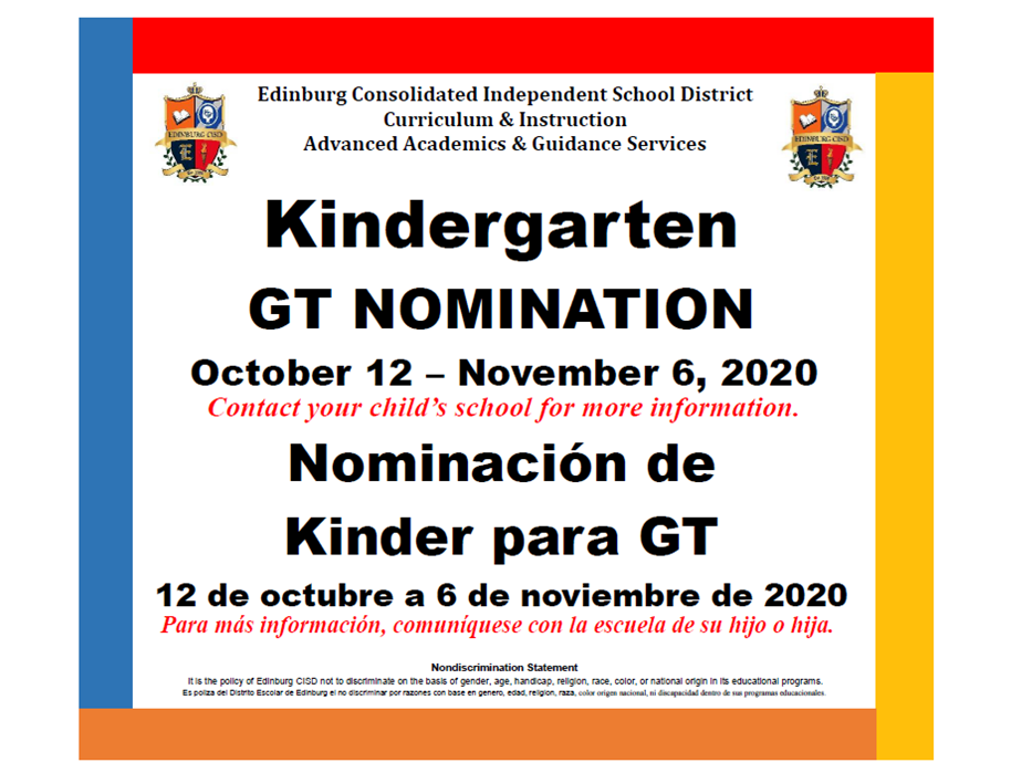 Image of Kinder GT Nomination poster