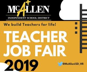 McAllen ISD Teacher Job Fair 2019