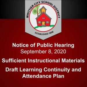 Public Notice September 2020