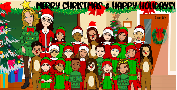 Ms. Note's Third Grade Class animated