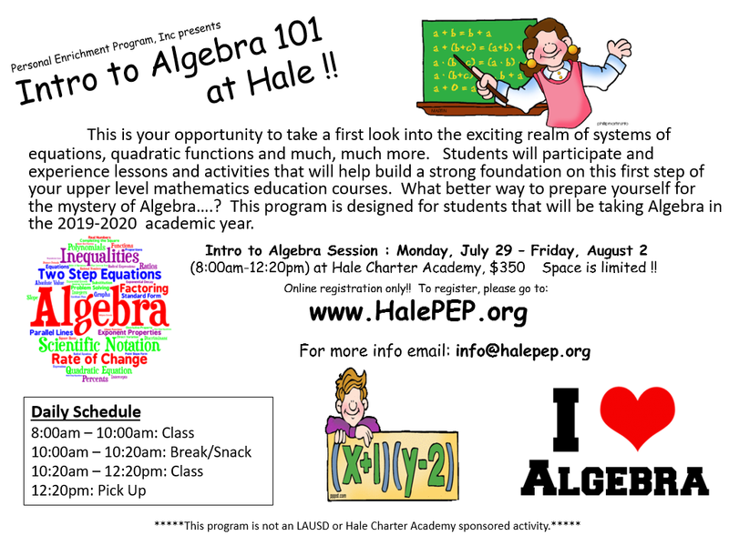 Summer Algebra Bridge Program Featured Photo