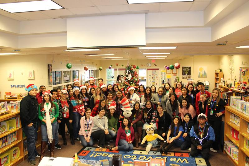 STVT Students Donate Gifts to Students Featured Photo