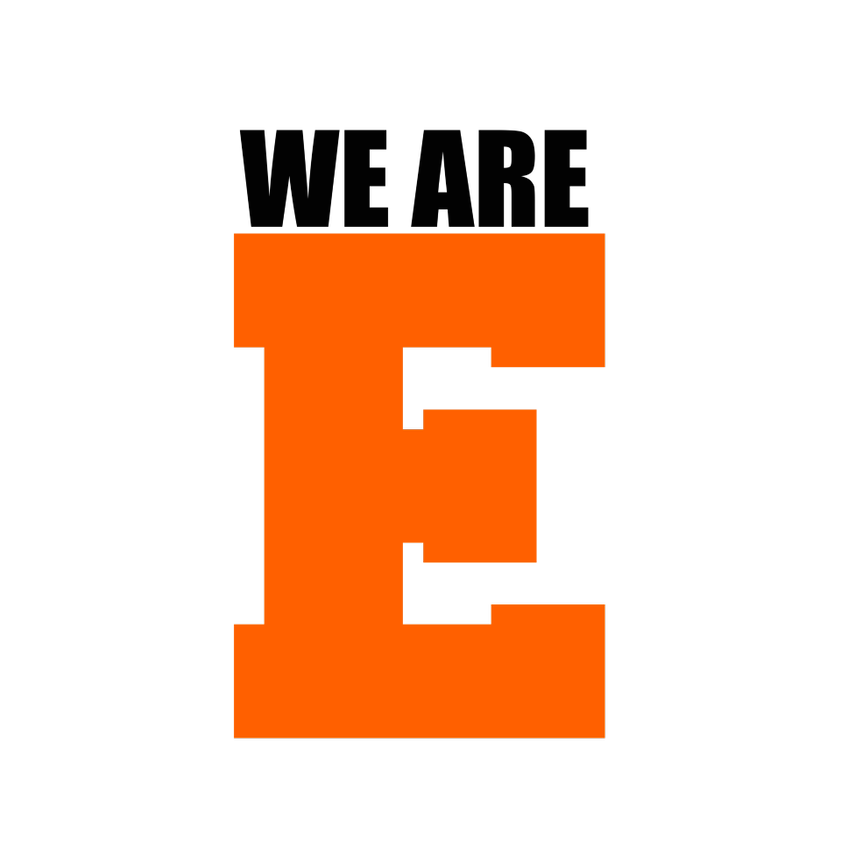 We are E logo