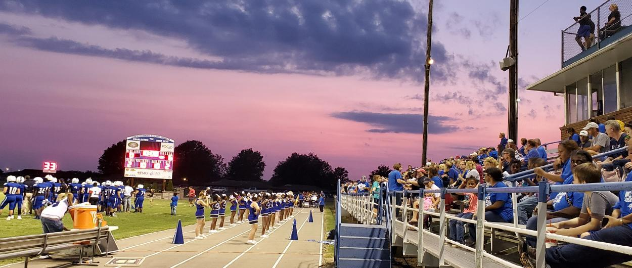 Crowd at a CHS Football game 2019