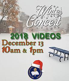 2018 Winter Concert Videos