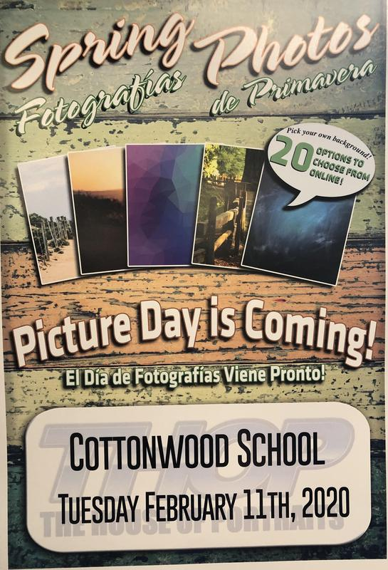 Spring Picture Day February 11th