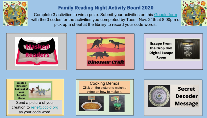 Picture of Reading Night options