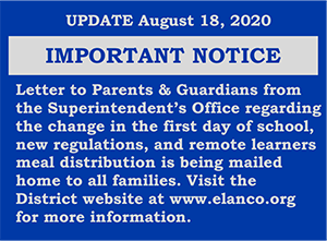 Letter to Parents & Guardians Letter Announcement Image