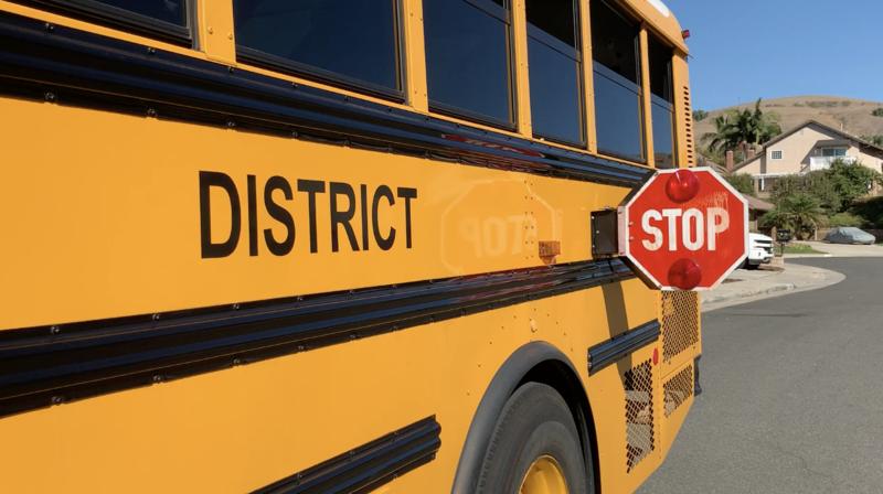 BOUSD School Bus