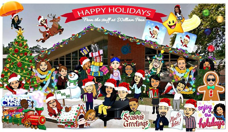 Happy Holidays from Wm. Penn! Featured Photo