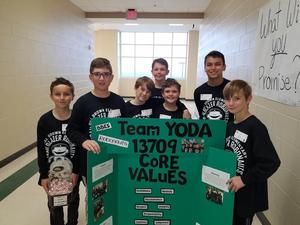 Team Yoda at First Lego League Competition 2.3.19