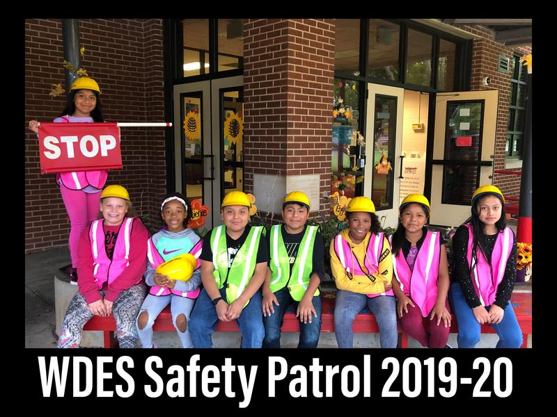 WDES Safety Patrol Featured Photo