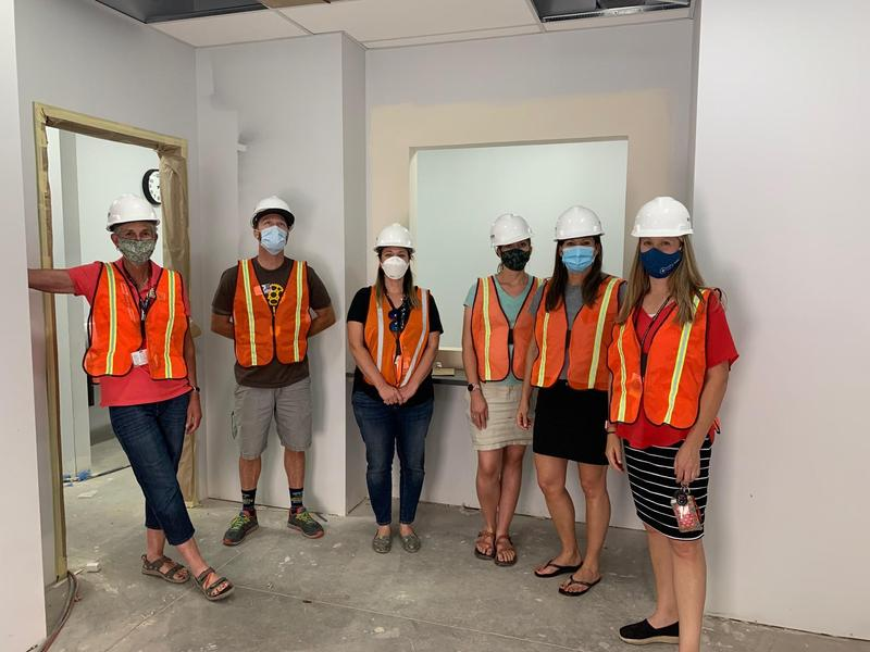 School  Based Health Center Nears Completion